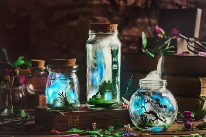 Волшебные работы Дины Беленко (Dina Belenko).