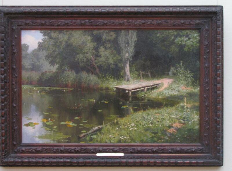 В.Д.Поленов Заросший пруд