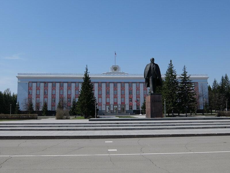 Барнаул - Здание администрации края