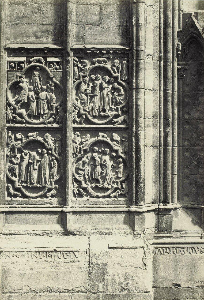 15. Деталь южного портала собора