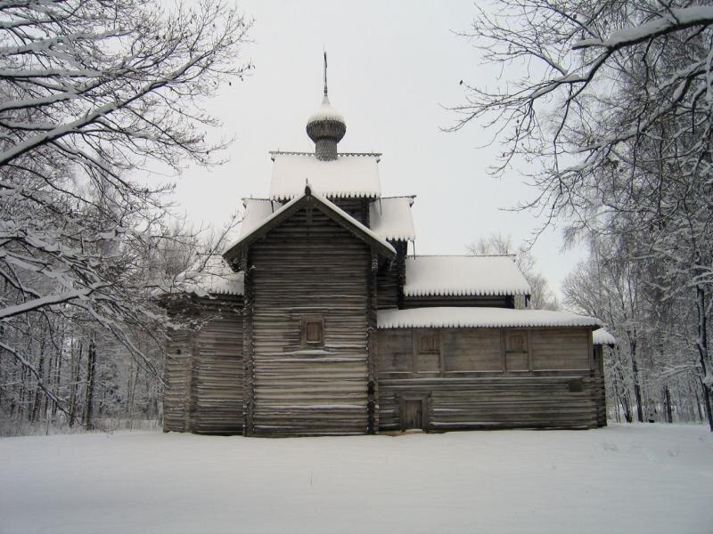 Никольская церковь из Мякишево. Вт. пол. 17 в.