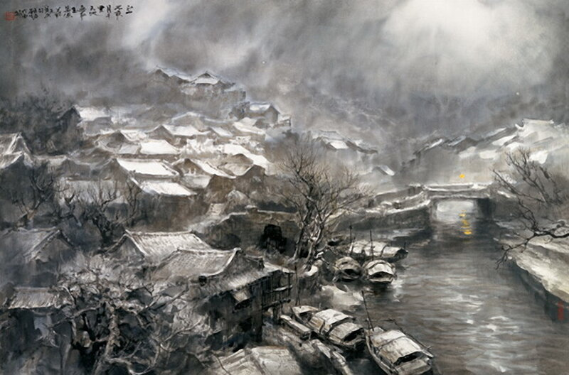 Китайская живопись - художник Zhao Wu Chao