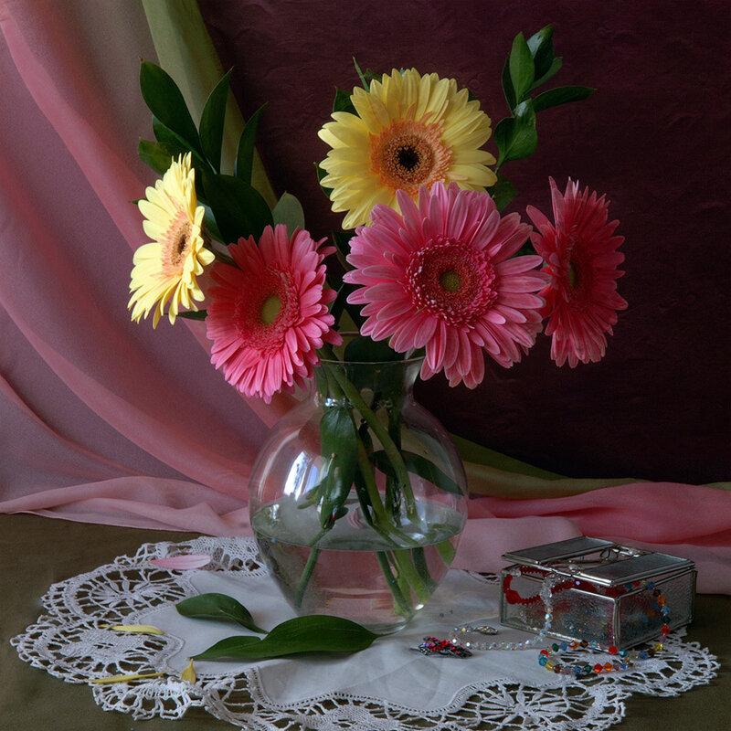 Красивые картины с цветами