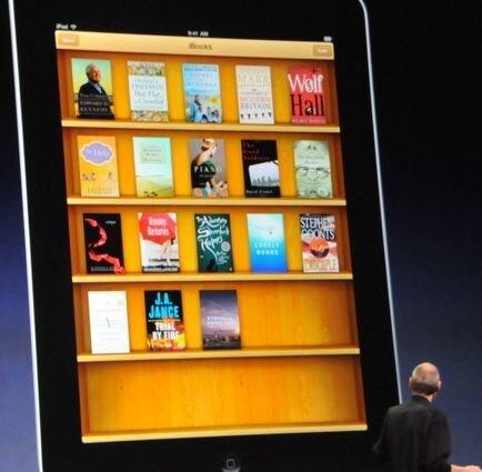 Бибилотека книг для iPad - выглядит замечательно, может для чтения не все еще потеряно, если рынок электронных книг повторит успех iPod в музыке