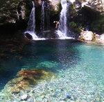 Водопад на острове Джеджу