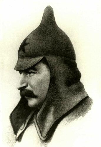 Картинки по запросу Сталин в буденовке