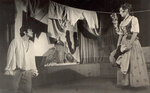 """С.Садальский - Кавалер Рипафратта, Л.Гарница - Мирандолина. ГИТИС, 1973 год. Дипломный спектакль """"Хозяйка гостиницы"""" К.Гольдони."""