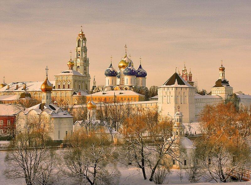 Троице-Сергиева Лавра перед Рождеством