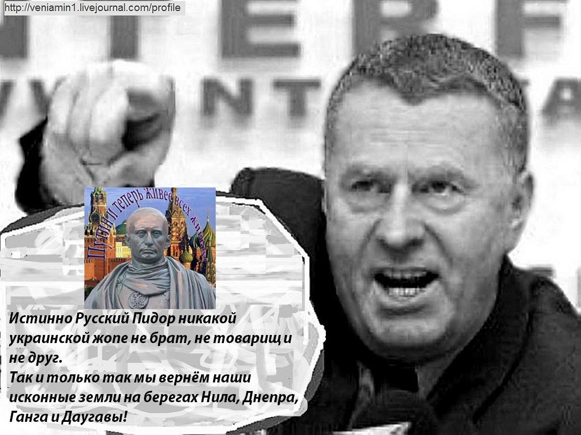 Жириновский и украинская жопа