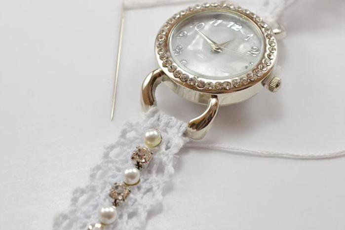 Стильные ремешки для любимых часов своими руками