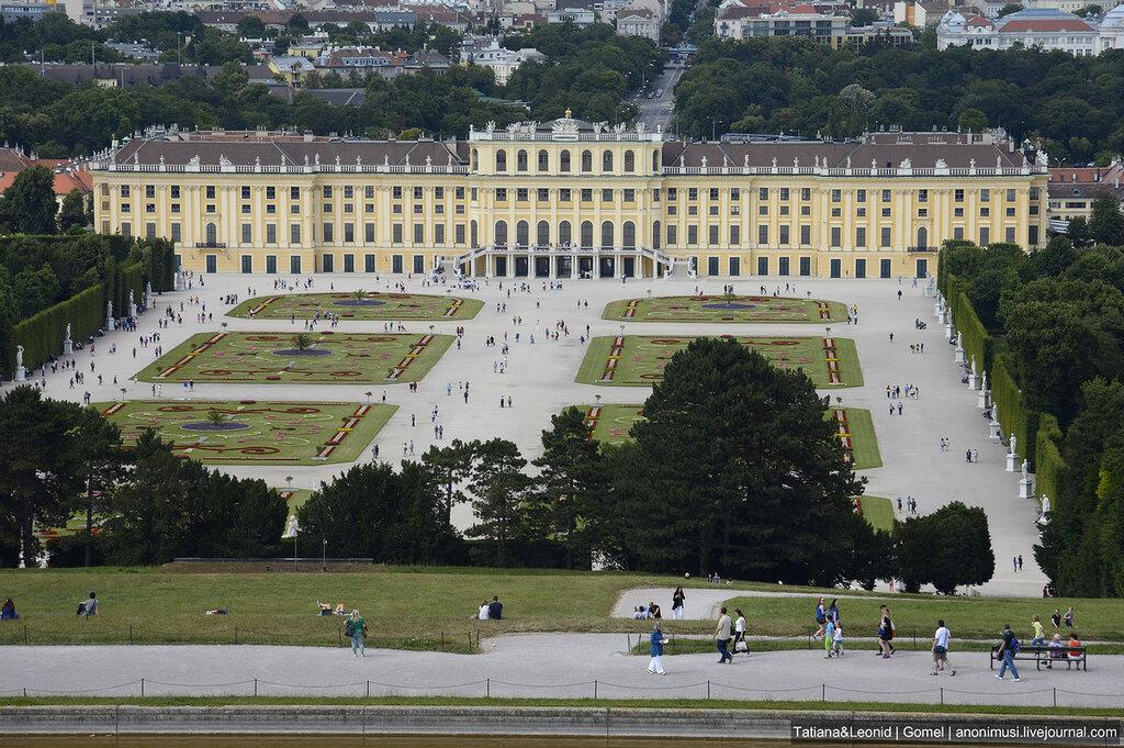 Шёнбрунн (Schloß Schönbrunn). Вена. Австрия
