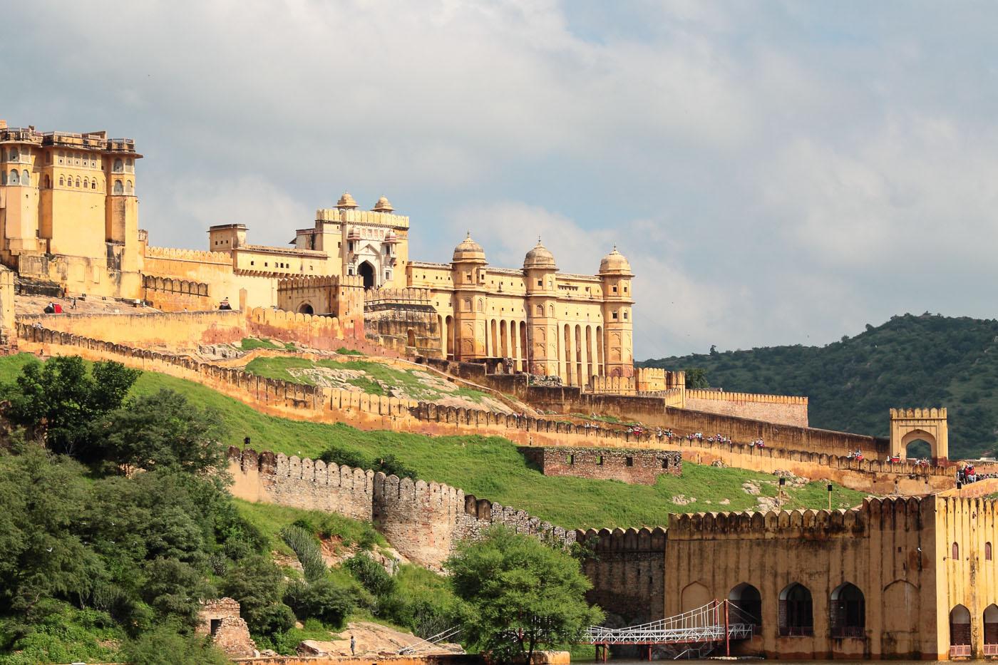 Фотография 7. Отзывы об экскурсии по Золотому треугольнику Индии. Форт Амбер в Джайпуре