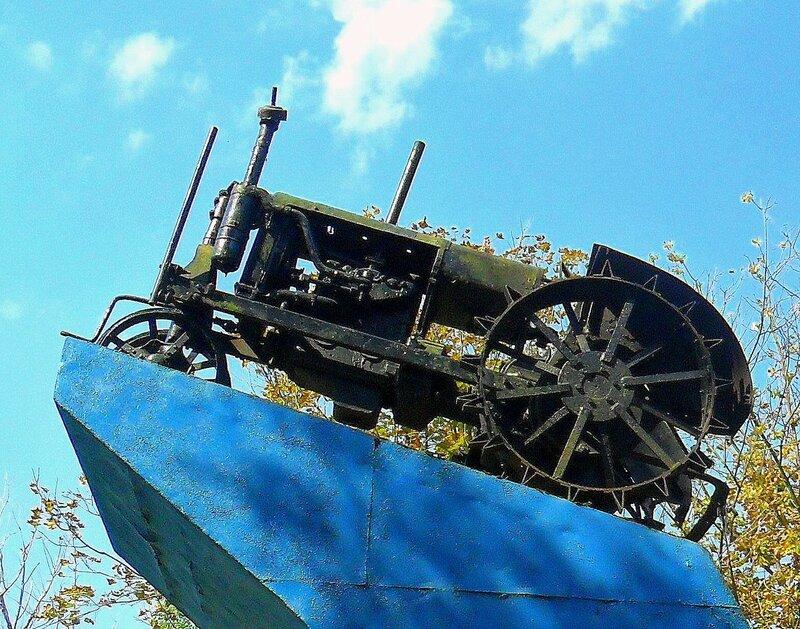 Трактор начала 20 века ... SAM_3526 - 1.JPG