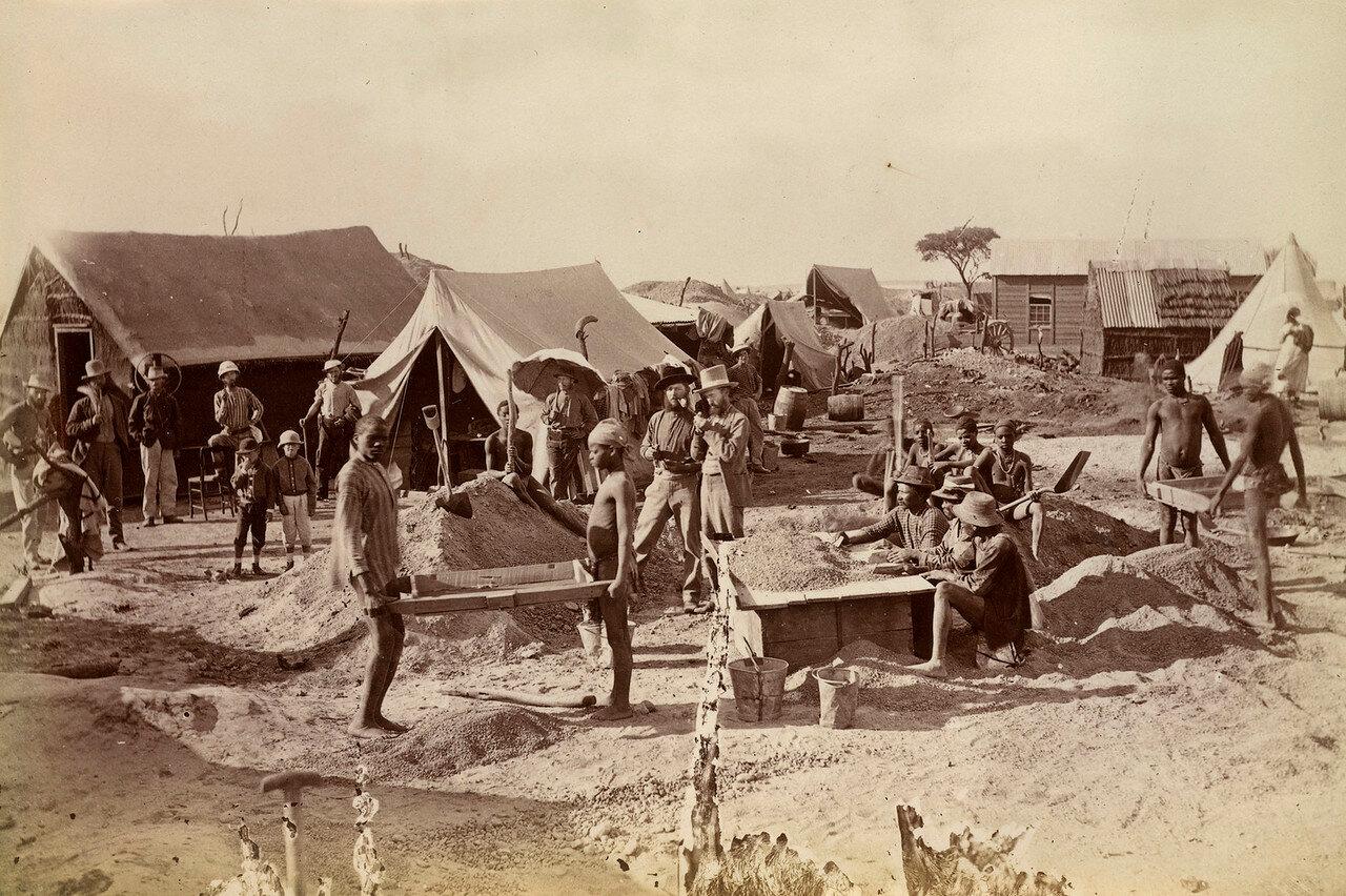 Западный Грикуаленд. Рабочие на копях