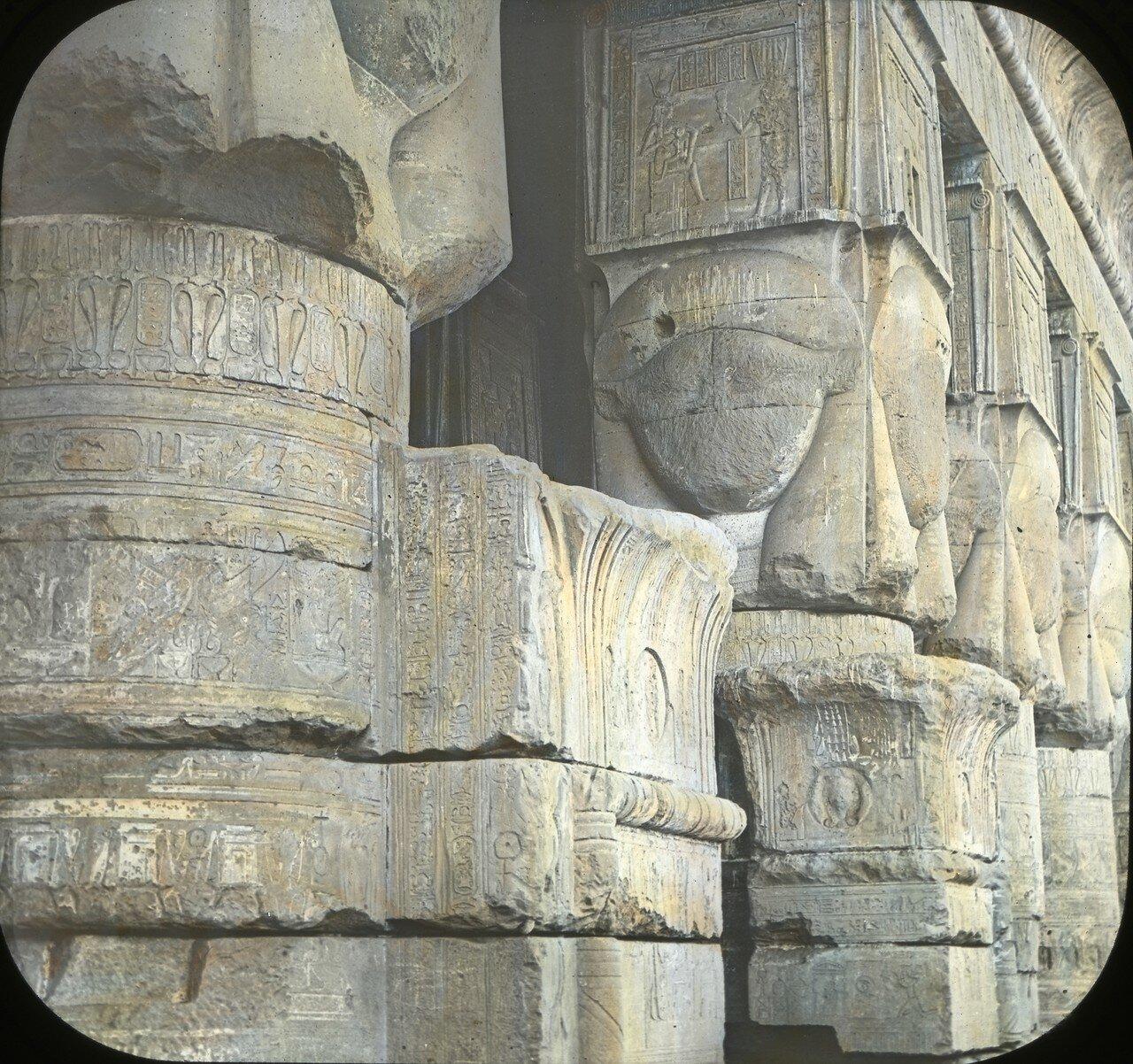 1925. Фрагмент храма