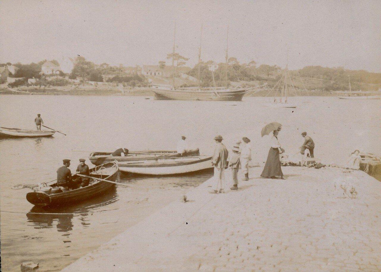 1900. Порт Кале