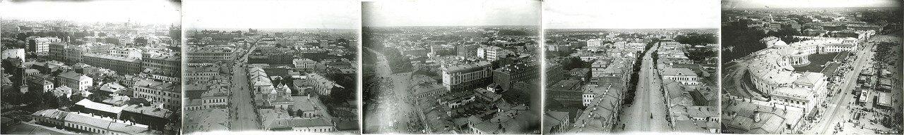 565. Панорама Москвы с Сухаревой башни. 1910-е