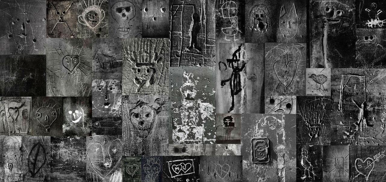 1930. Граффити. Без названия. Стена