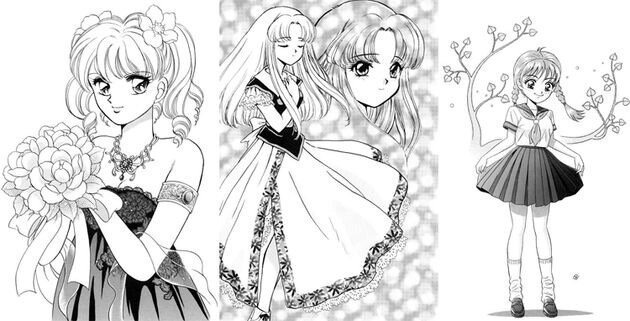 Технология  рисования женских персонажей манга