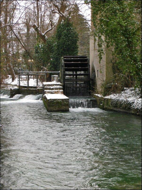 Водяное колесо на реке Падер, Падерборн