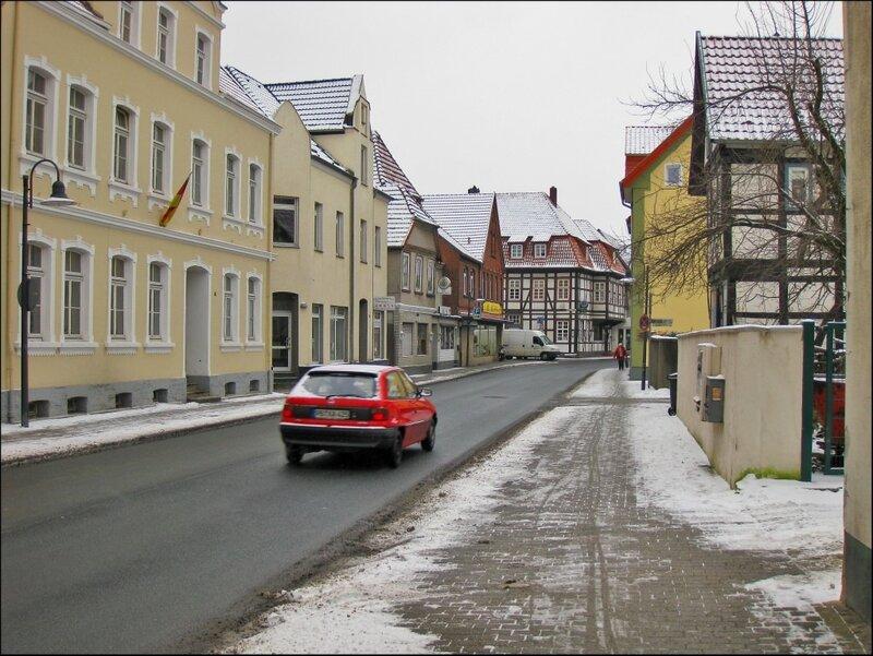 Улица в центре Нойхауза