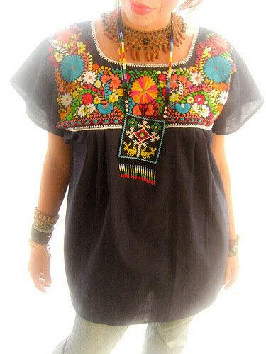 мексиканская одежда этника хендмейд