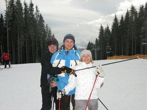 З організаторами подорожі - родиною Педай