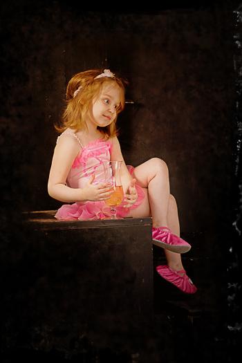 студийные фотографии маленькой девочки - Василисы