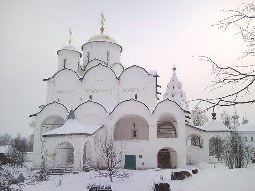 Покровский собор 1530г.Покровский женский монастырь.
