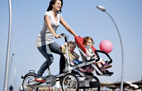 Велосипед для мамочек