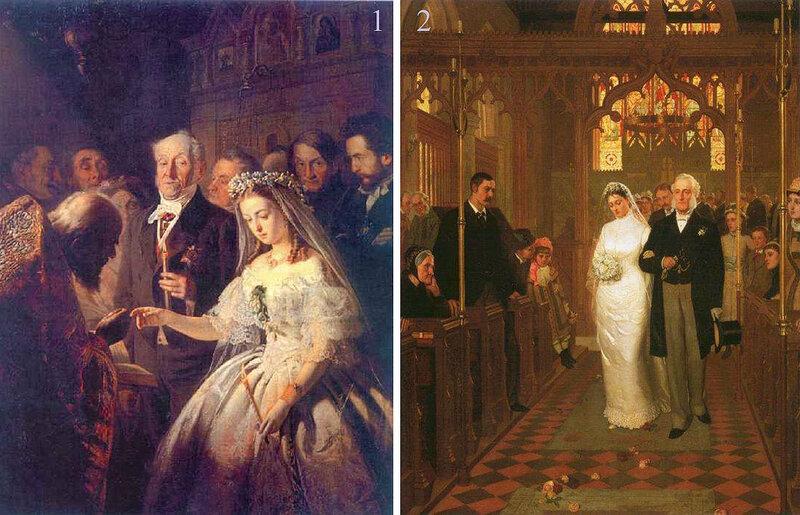 """""""Неравный брак"""" (1862)."""