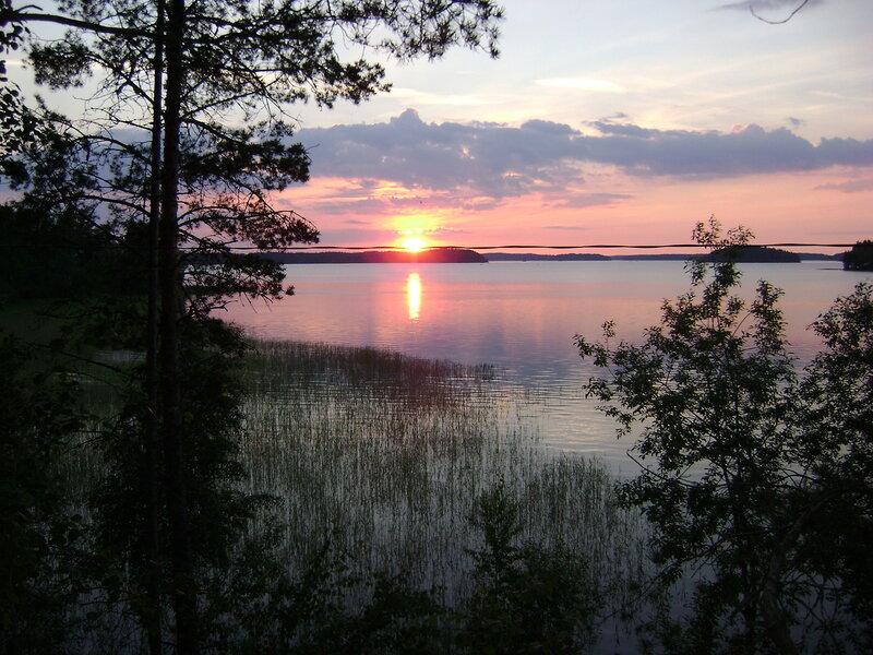 Озеро Сайма (Финляндия)