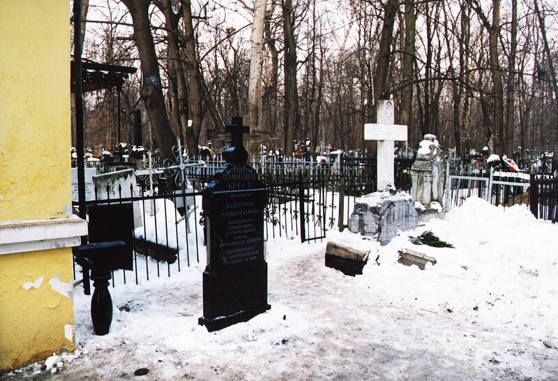 13.01.2006 Крест без ограды
