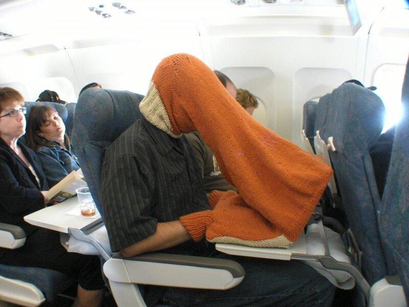 работа на ноутбуке в самолете