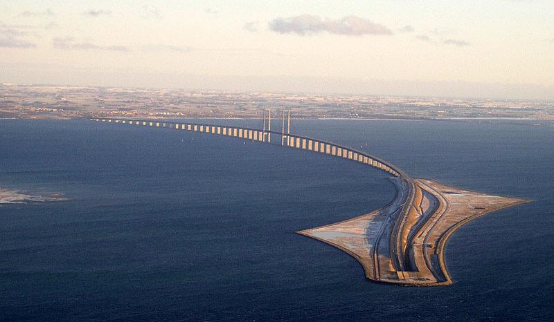 Мост Орезунд - соединение Швеции и Дании