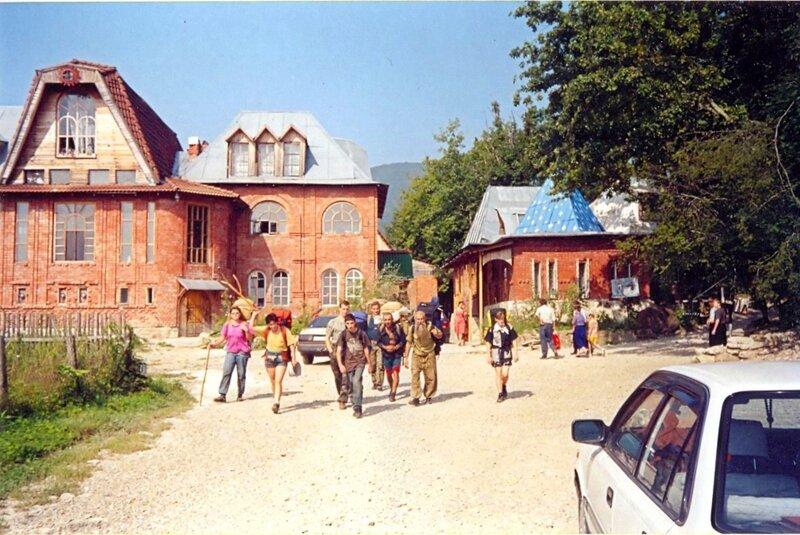 Туристы 2002 г.