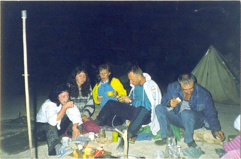Ночь на Ясенской косе. 2003 г.