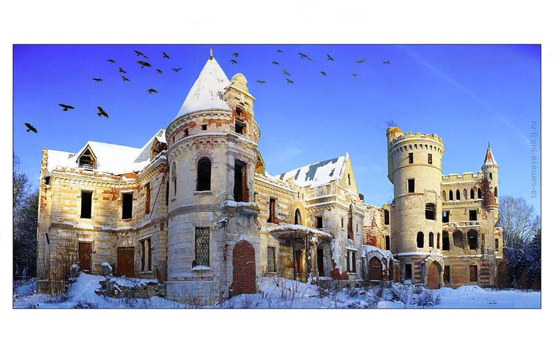 Замок усадьбы Храповицкого/Муромцево 5.01.10