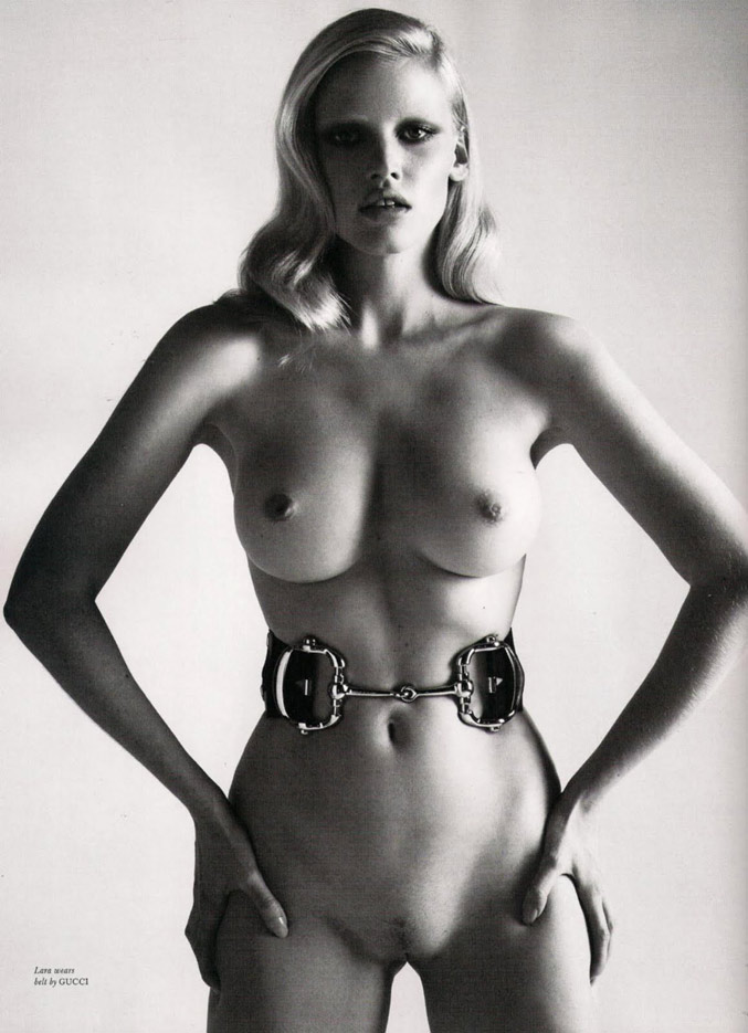 The Fashion Icons: Lara Stone (Лара Стоун)