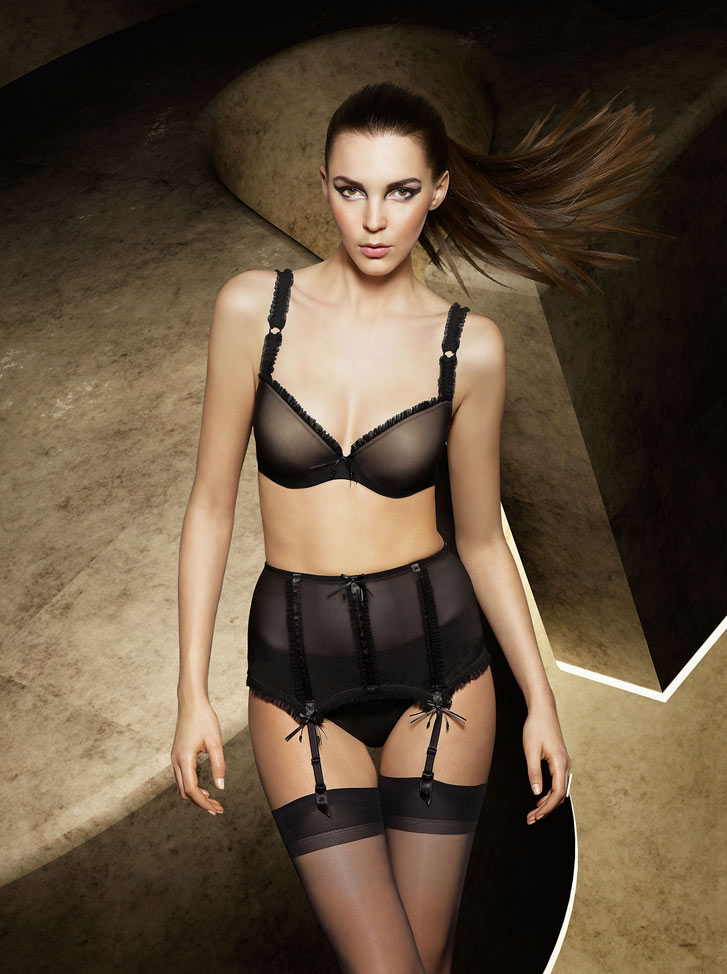 Marie Jo L'Aventure Lingerie Fall-Winter 2009-2010 - Jennifer Massaux
