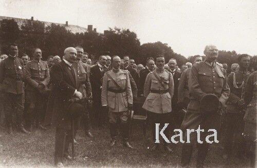Начальник французской миссии во Львове Эрнест де Ренци, 1919 г.