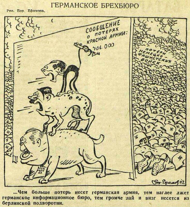 «Красная звезда», 18 июля 1942 года, пропаганда Геббельса, идеология фашизма