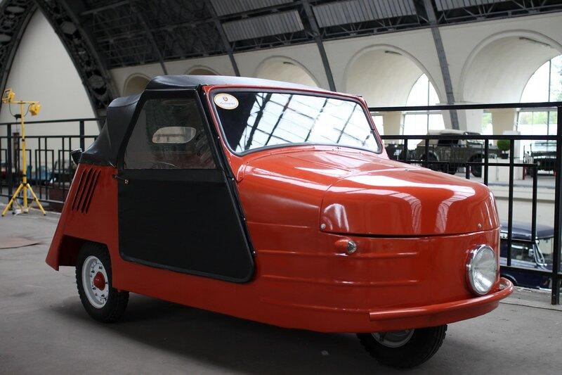 Ретро-автомобили на ВДНХ