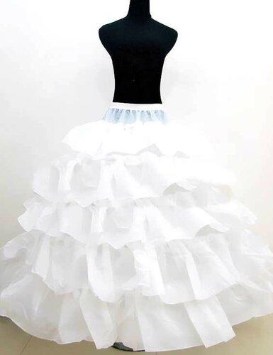 Шитье юбки с оборками