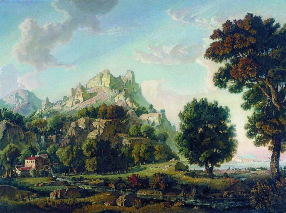Крымский пейзаж. 1930.jpg