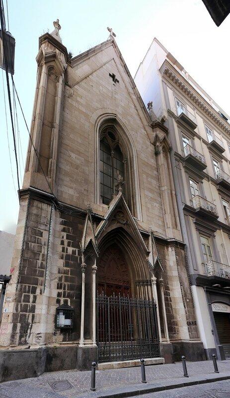 Неаполь. Лютеранская церковь (Chiesa luterana di Napoli)