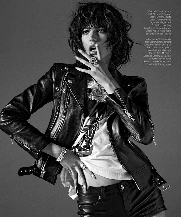 Жаклин Яблонски в Harper's Bazaar Espanol 2014