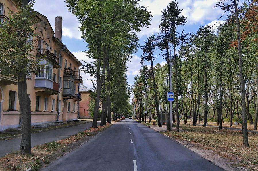 12. Парку не так давно присвоено название Антоновский как воспоминание о прошлом района. По словам м