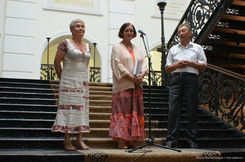 'Здесь рюши, банты и узор…', Саратов, Радищевский музей, 14 июля 2015 года
