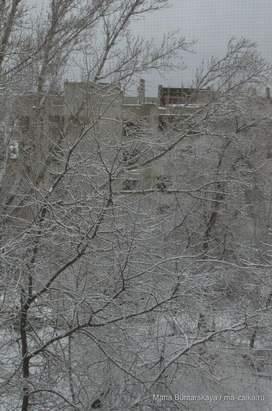 Тем временем за окном, Саратов, 03 декабря 2015 года